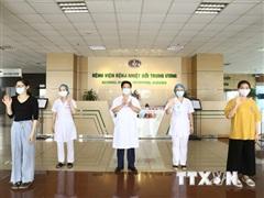 91% trường hợp mắc COVID-19 tại Việt Nam đã khỏi bệnh