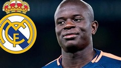 Hụt Pogba, Real Madrid mua gấp Kante