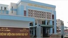 Cách chức giám đốc Bệnh viện Gò Vấp vì gom khẩu trang y tế