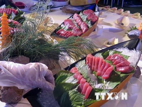 Phú Yên: Trình diễn các món ăn hấp dẫn từ cá ngừ đại dương