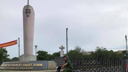 Nam sinh trường Đại học Sư phạm Kỹ thuật Vinh rơi từ tầng cao xuống tử vong