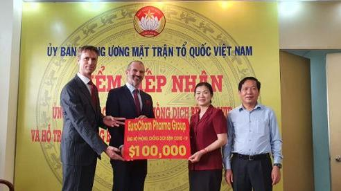 EuroCham Pharma Group chung tay ủng hộ Việt Nam phòng, chống Covid-19
