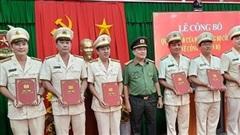 Bổ nhiệm Phó giám đốc, điều động hàng loạt chỉ huy Công an Vĩnh Long