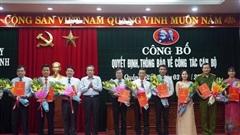 Quảng Bình: Điều động, bổ nhiệm 25 vị trí lãnh đạo