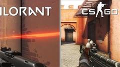 Riot nhận toàn tin dữ khi VALORANT mới ra mắt - Đồ họa bị chê là quá xấu nếu so sánh với CS:GO