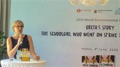 Ngày Môi trường Thế giới: Ra mắt sách 'Greta Thunberg: Chiến binh bảo vệ hành tinh xanh' bằng tiếng Việt