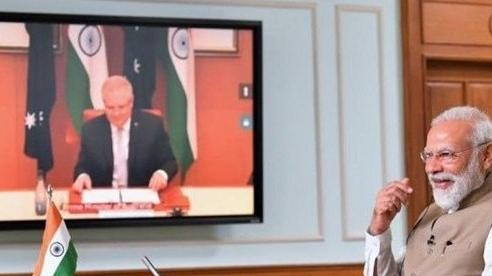 Nâng cấp quan hệ lên Đối tác chiến lược toàn diện, Ấn Độ-Australia thắt chặt hơn bao giờ hết