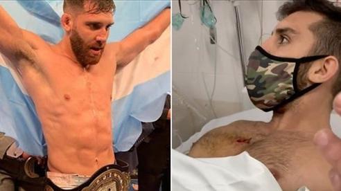 Cố gắng chống trả bọn cướp, nhà vô địch MMA bị bắn suýt chết