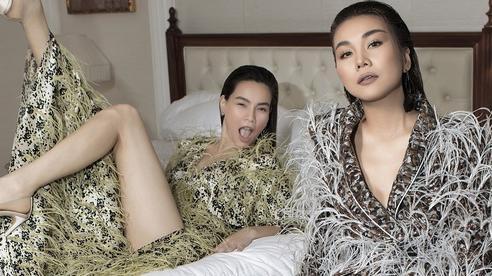 Loạt ảnh lên tạp chí Pháp của Hà Hồ: Lộ vòng 2 đã nhô lên thấy rõ, nhan sắc giữa lúc mang song thai thế nào?