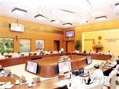 Nghị quyết điều chỉnh Chương trình xây dựng luật, pháp lệnh năm 2020