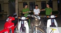 Siêu trộm xe máy sa lưới công an Hà Nam