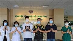 Chiều 5/6, Việt Nam có thêm 5 bệnh nhân COVID-19 được công bố khỏi bệnh, chỉ còn 21 trường hợp đang điều trị