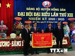 Bạc Liêu tổ chức đại hội điểm cấp huyện, bầu trực tiếp Bí thư Huyện ủy