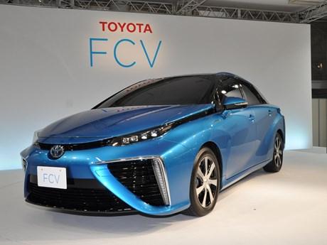 Toyota liên doanh với Trung Quốc sản xuất xe chạy pin nhiên liệu