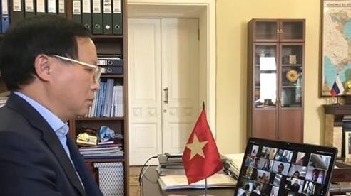 Nỗ lực hỗ trợ cộng đồng người Việt tại Nga vượt qua đại dịch COVID-19