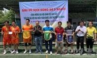Giải bóng đá Cụm thi đua 10 Công an TPHCM chào mừng đại hội Đảng các cấp