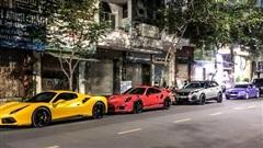 Vừa thành lập hội siêu xe thứ 2 Việt Nam, dàn 'tắc kè hoa' của Evo Team quy tụ tại trung tâm Sài Gòn