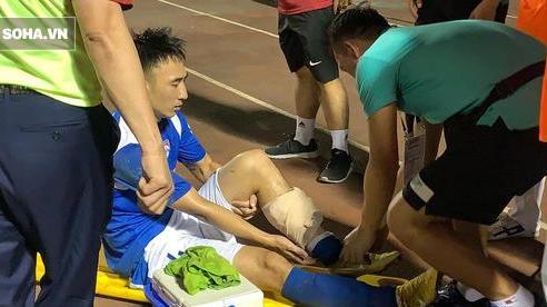 Cầu thủ V.League phẫu thuật thành công sau chấn thương kinh hoàng, cần 3 tháng để trở lại sân tập