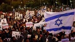 Hàng nghìn người Israel biểu tình phản đối kế hoạch sáp nhập bờ Tây