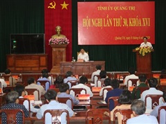 Ông Võ Văn Hưng được bầu làm Phó Bí thư Tỉnh ủy Quảng Trị