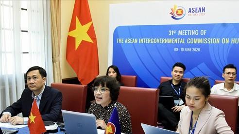 Khai mạc cuộc họp lần thứ 31 của Uỷ ban liên Chính phủ ASEAN về Nhân quyền theo hình thức trực tuyến