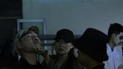 Quá nhập vai, Minh Hằng lỡ tay đánh cascadeur chảy máu mũi