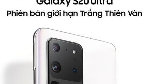 Galaxy S20 Ultra ra mắt phiên bản giới hạn Trắng thiên vân