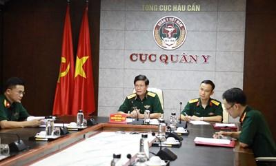 Tăng cường hợp tác quân y trong phòng, chống dịch Covid-19