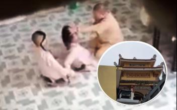 Vụ sư trụ trì tát liên tục vào mặt trẻ em: Nhà chùa nói chỉ dạy dỗ đệ tử, mẹ cháu bé lên tiếng cảm thông với sư cô