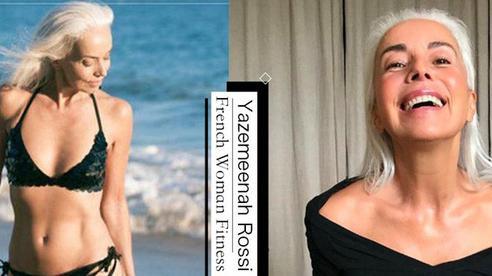 Đã 65 tuổi nhưng vẫn có cơ bụng nhấp nhô cùng đôi chân thon 'cực phẩm': người mẫu Pháp chia sẻ bí quyết gồm 4 tips
