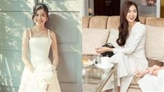 Những kiểu váy trắng được Á hậu Thúy Vân, Hà Tăng lăng xê nhiệt tình