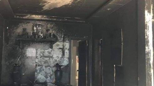 Người đàn ông bất ngờ tưới xăng đốt nhà mẹ vợ cũ