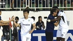 Thua HAGL, HLV Nam Định đổ lỗi cho công tác trọng tài