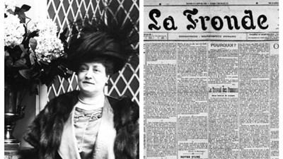 La Fronde - tờ báo đầu tiên trên thế giới dành cho phụ nữ