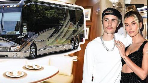 Choáng với 'biệt thự di động' của vợ chồng Justin Bieber: Trị giá tới 23 tỷ đồng, thiết kế nội thất 'sang xịn mịn'