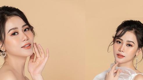 Cao Thùy Trang khoe vẻ đẹp mong manh quyến rũ với tông trắng chủ đạo