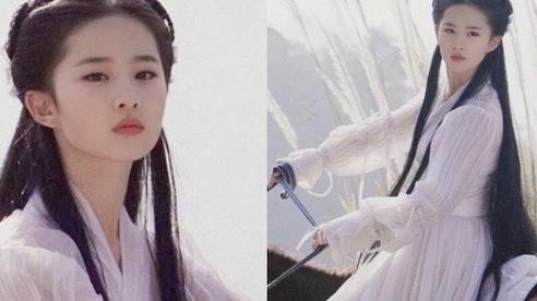Ảnh hiếm bị cắt bỏ trong 'Thần Điêu Đại Hiệp' được tiết lộ: Visual năm 16 tuổi của Lưu Diệc Phi xuất sắc nhường nào?