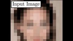AI 'hô biến' ảnh chân dung mờ đến mức không thể thấy rõ được mặt thành ảnh sắc nét gấp 64 lần