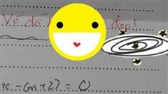 Chuyện xưa nay hiếm: Bị cô giáo chê vẽ đồ thị xấu nhưng nữ sinh mừng ra mặt, hóa ra vì lời phê ngọt ngào sau đó