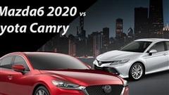 Mazda6 2020 dùng loạt công nghệ hiện đại nhất phân khúc đấu Toyota Camry tại Việt Nam