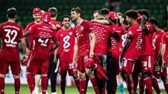 Bayern Munich vô địch Bundesliga mùa thứ 8 liên tiếp