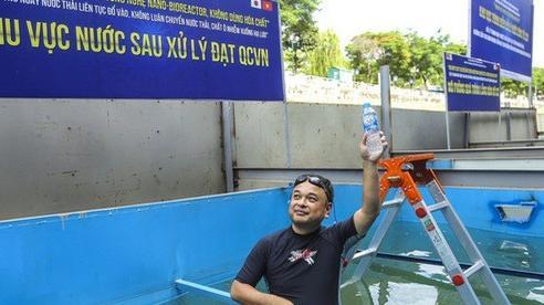 Hà Nội nói chuyên gia Nhật 'từ bỏ' làm sạch sông Tô Lịch, JVE bảo 'phát ngôn sai sự thật'