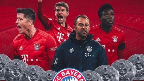 Báo chí thế giới thán phục kỳ tích 8 ngôi vô địch của Bayern Munich