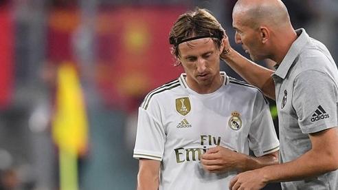 Luka Modric kế thừa Zidane dẫn dắt Real Madrid