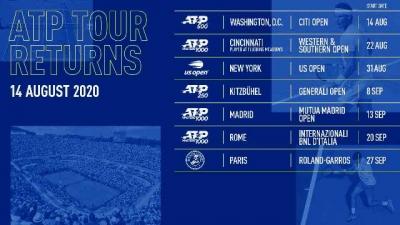 ATP Tour trở lại với giải quần vợt ATP 500 Citi Open