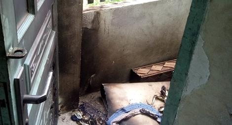 Nghi án tưới xăng đốt phòng trọ vì 'tín dụng đen'