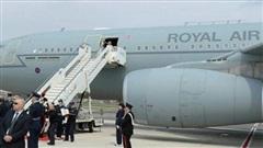 Thủ tướng Anh Johnson bị chỉ trích vì chi 1,1 triệu USD sơn lại chuyên cơ