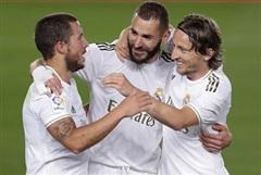 Vòng 29 La Liga: Real Madrid thắng tưng bừng Valencia