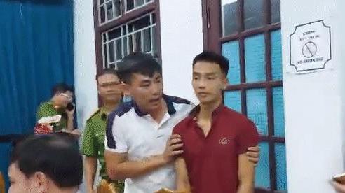 Hình ảnh lạ của phạm nhân giết người Triệu Quân Sự khi bị bắt tại quán game