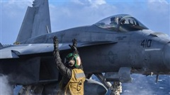 F/A-18 Mỹ vừa rơi gần Philippines